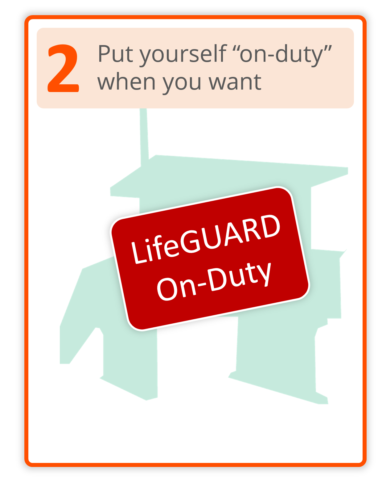 Live Coding Help Member LifeGUARD Step 2 - Put Yourself On-Duty When You Want